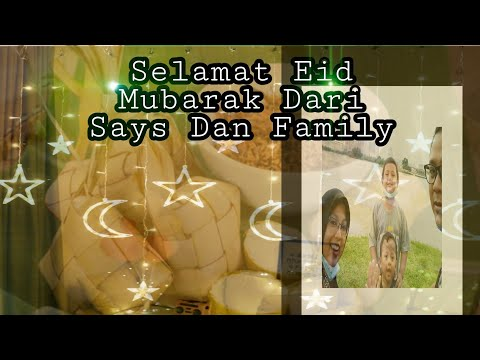 Vlog Selamat Hari Raya Eidul Fitri Mohon Maaf Zahir Batin