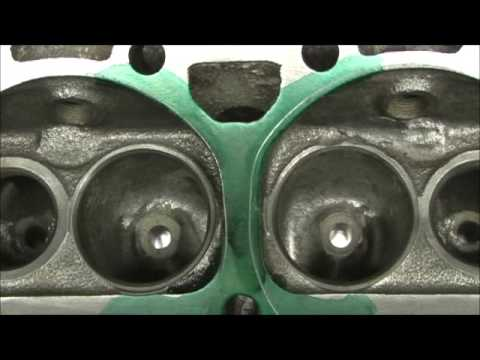 Unshrouding Chevy Small Block Combustion Chambers for 2.02 valves