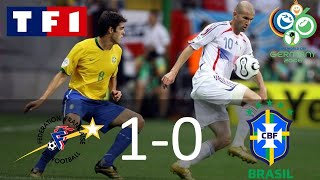 France 1-0 Brésil | Quart de finale | Coupe du monde 2006 | TF1/FR