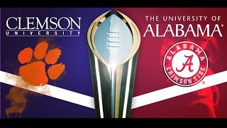 "Alabama vs. Clemson National Championship HYPE VIDEO ""THE REMATCH"""