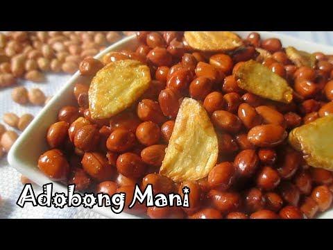Adobong Mani Recipe | Salted Peanut With Garlic | Fried Peanut
