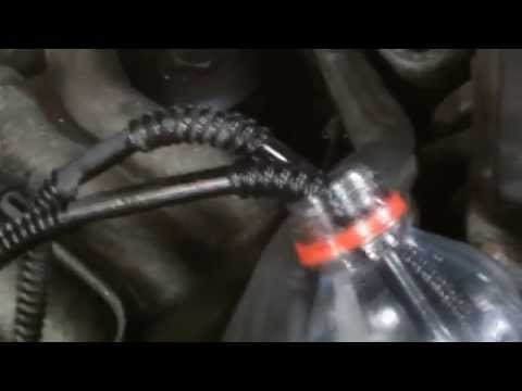 HOW TO CLEAN DIESEL FUEL INJECTORS ,MERCEDES E300.