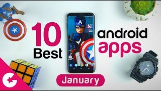 Top 10 Best Apps for Android - Free Apps 2018 (January)