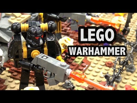 LEGO Warhammer 40K Battle (Cultists vs Death Korps of Krieg)