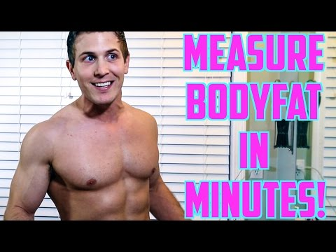 Measure Your Bodyfat At Home! (THE EASIEST & MOST RELIABLE WAY!)