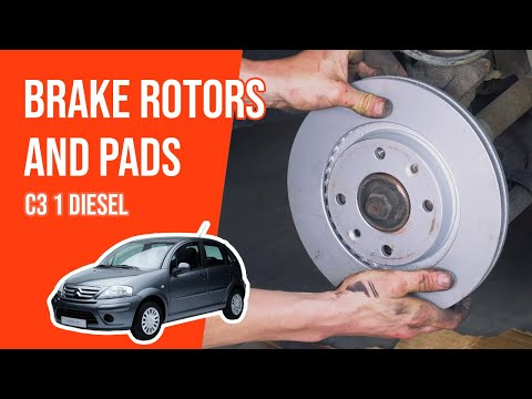 [ TUTORIAL DIESEL CITROËN C3 ] How to change brake discs and pads