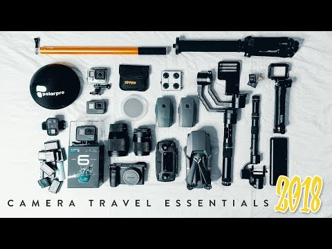 My Camera Travel Essentials 2018 // WHATS IN MY CAMERA BAG