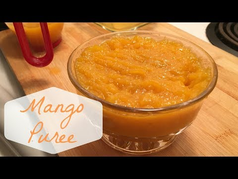 [NO MACHINE] Mango Puree & Mango Concentrate | 芒果汁 & 芒果溶