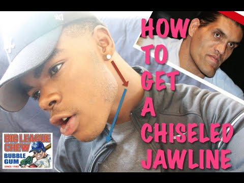 HOW TO GET A CHISELED JAWLINE || How to define your jawline with 2 easy steps