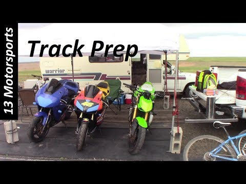 Prep your motorcycle for a track day!