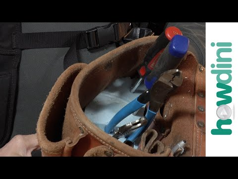 How to Make a Custom Tool Organizer for your Tool Belt