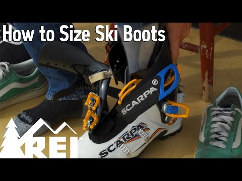Skiing: How to Size Ski Boots