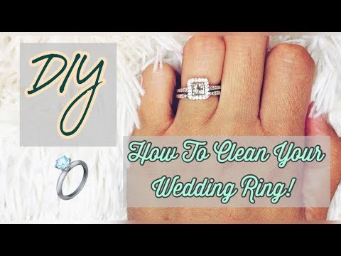DIY : How To Clean Your Wedding Ring At Home