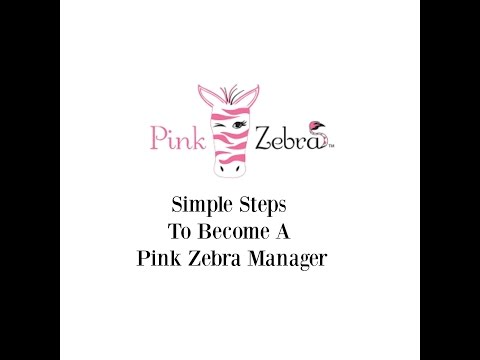 Simple steps to becoming a Pink Zebra manager!