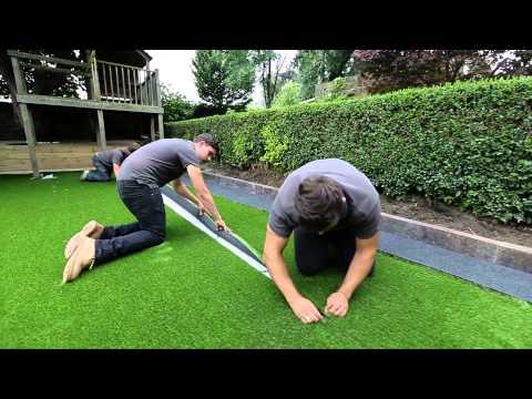 How to install artificial grass?