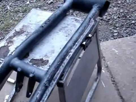 How to remove powder coating fast & easy
