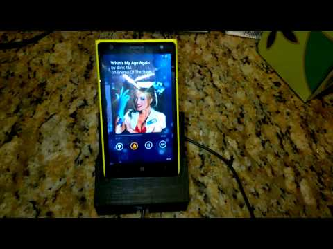 3D Printed Lumia 1020 Docking Station w/Power Charger