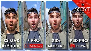 OnePlus 7 Pro vs iPhone XS Max vs Samsung S10 Plus vs Huawei P30 Pro - Camera Comparison Test Review