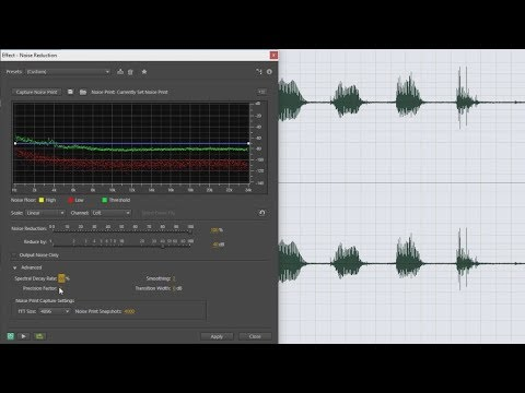 Fixing Noisy Camera Audio During Video Editing with Noise Reduction