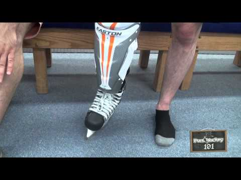 How to Choose & Fit Hockey Shin Pads