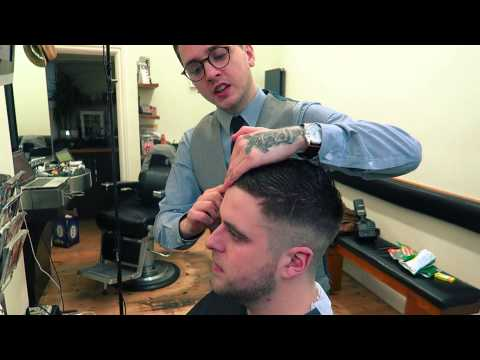How to smooth thick unruly hair (mens) (4)