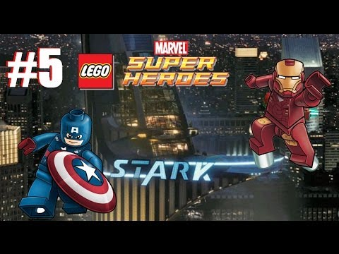 LEGO Marvel Super Heroes: Universe in Peril - Part 5: Stark Tower (3DS)