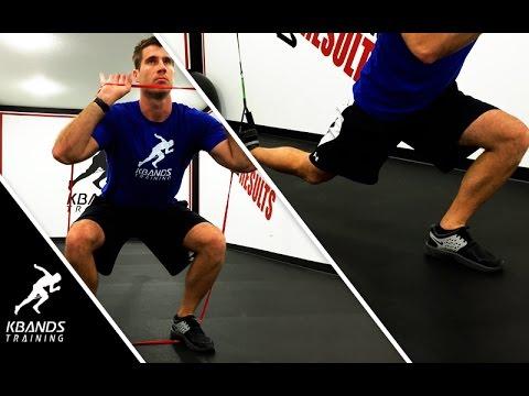 Basketball Speed Workouts | Basketball Leg Resistance Bands