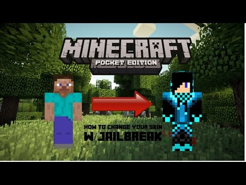 Minecraft PE: How to change your skin w/jailbreak