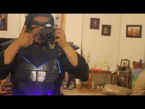 HOW TO MAKE NIGHTWING ARMOR PART 3