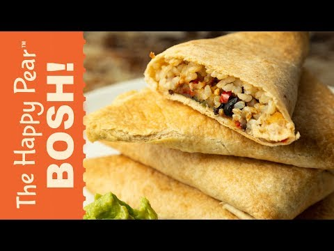 SAMOSA BURRITO with BOSH! | THE HAPPY PEAR