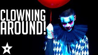 NO CLOWNING Around! Craziest Clown Auditions on Got Talent