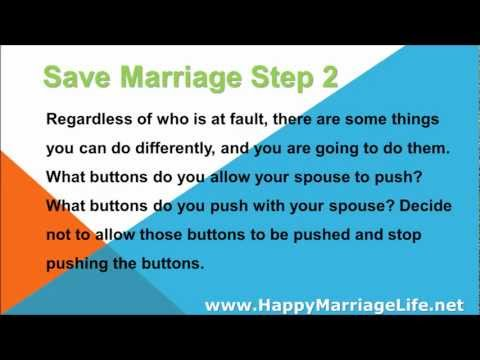 Save Marriage Step 2 - Take Responsibility
