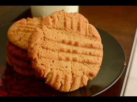 How To Make Best Peanut Butter Cookies | Peanut Butter Cookies Recipe | Easy Cookies Recipe