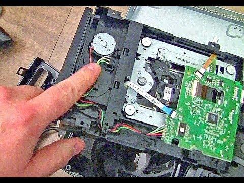 XBOX 360 Slim - Open Tray Error - broken limit switch mount