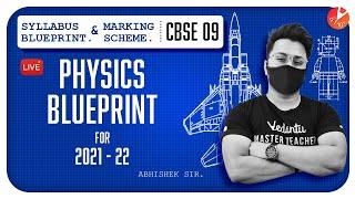 CBSE Class 9 Physics Blueprint for 2021 - 2022 📝 | Syllabus Blueprint and Marking Scheme | Vedantu