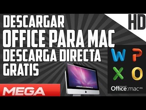Descargar e Instalar Office para MAC Ultima version Full Gratis