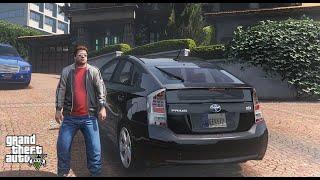 GTA V Real Life Mods - Jimmy Drives UBER Toyota Prius 2015   Logitech G29 Steering   GTA 5 Pakistan