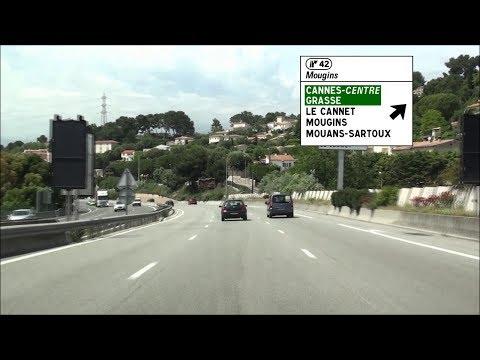 FR / A8 Nice - Antibes - Cannes