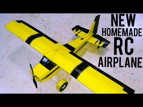 RC Airplane India with Fpv camera | 6 channel | Homemade.