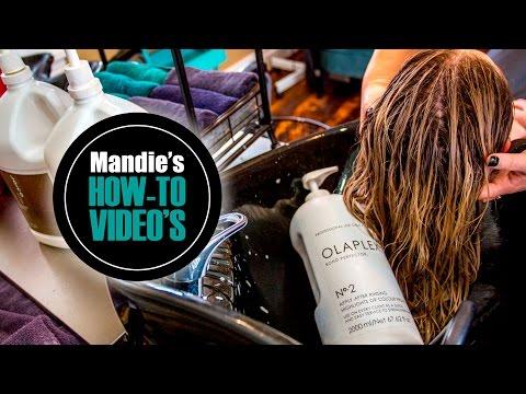 HOW TO'S | OLAPLEX TREATMENT