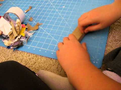 How to make a duct tape x-acto knife holder
