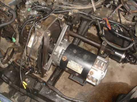 Small Budget Honda Accord Electric Conversion