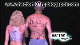 René Calle 13 Sorprendió A Shakira Su Espalda Decía  Hoy Soy Tu Piqué