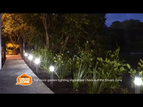 How to Install Garden Lighting   Mitre 10 Easy As