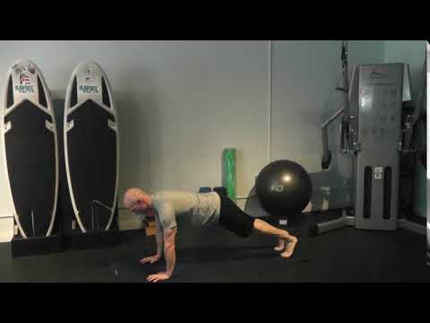 plank long lever front hold