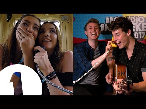 Shawn Mendes' surprise phonebox call