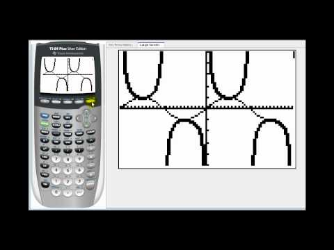Graphing Secant, Cosecant, and Tangent on the TI84