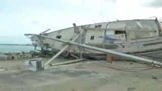 St. Martin destruction caused by Hurricane Irma