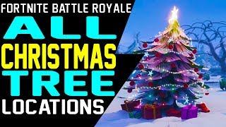 Christmas Tree Locations Fortnite | Aimbooster Apex