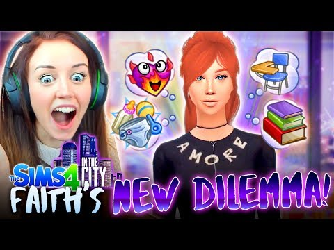 FAITH'S BIG DECISION 😍(And it's not who you think!?) (The Sims 4 IN THE CITY #36!💒)